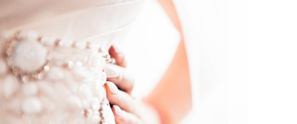 bruidsfotografie detail bruidsjurk