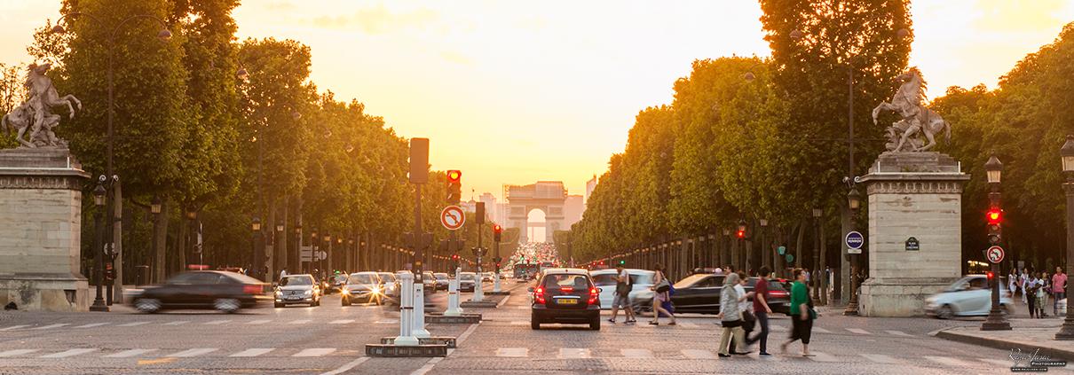 Champs-Élysées Paris Frankrijk